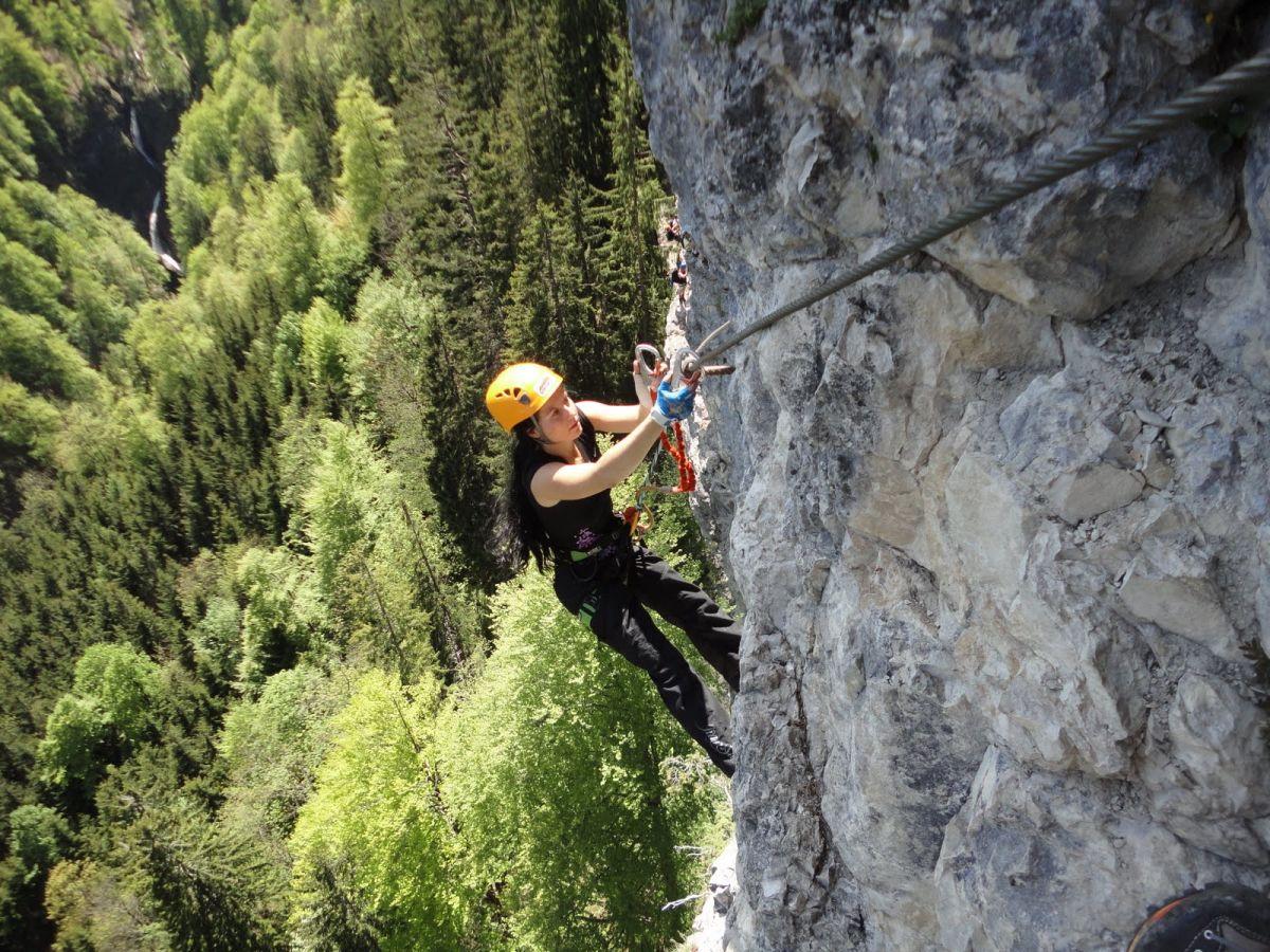 Klettersteigy Soľnej komory