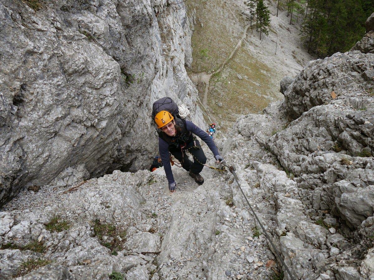 Klettersteigy Raxalpe