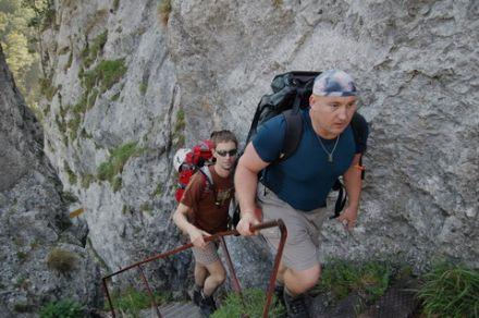 Klettersteigy Raxalpe 2007